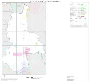 Primary view of object titled '2000 Census County Subdivison Block Map: Angleton-Rosharon CCD, Texas, Index'.