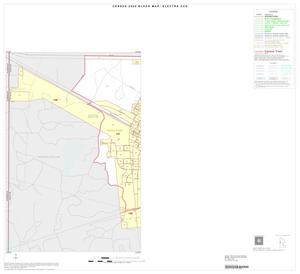 Primary view of object titled '2000 Census County Subdivison Block Map: Electra CCD, Texas, Inset A01'.