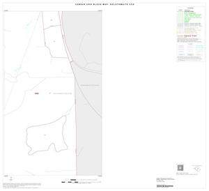 Primary view of object titled '2000 Census County Subdivison Block Map: Goldthwaite CCD, Texas, Inset A04'.