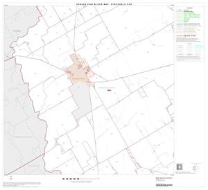 Primary view of object titled '2000 Census County Subdivison Block Map: Stockdale CCD, Texas, Block 3'.