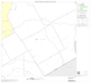 Primary view of object titled '2000 Census County Subdivison Block Map: Waco CCD, Texas, Block 35'.