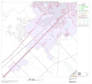 Primary view of object titled '2000 Census County Subdivison Block Map: San Marcos CCD, Texas, Block 10'.