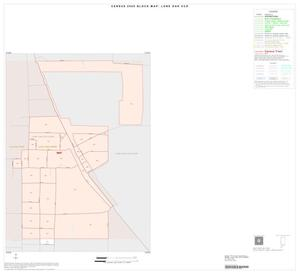 Primary view of object titled '2000 Census County Subdivison Block Map: Lone Oak CCD, Texas, Inset B01'.