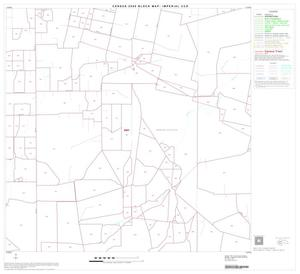 Primary view of object titled '2000 Census County Subdivison Block Map: Imperial CCD, Texas, Block 7'.