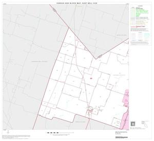 Primary view of object titled '2000 Census County Subdivison Block Map: East Bell CCD, Texas, Block 1'.