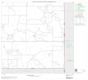 Primary view of object titled '2000 Census County Subdivison Block Map: Shamrock CCD, Texas, Block 8'.