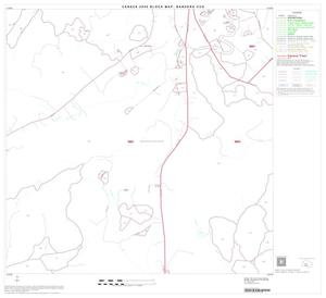 Primary view of object titled '2000 Census County Subdivison Block Map: Bandera CCD, Texas, Block 11'.