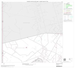 Primary view of object titled '2000 Census County Subdivison Block Map: Crane South CCD, Texas, Block 1'.