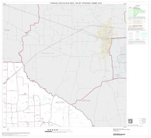 Primary view of object titled '2000 Census County Subdivison Block Map: Dalby Springs-Simms CCD, Texas, Block 2'.