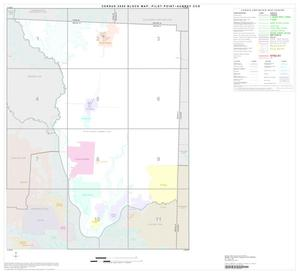 Primary view of object titled '2000 Census County Subdivison Block Map: Pilot Point-Aubrey CCD, Texas, Index'.