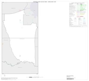 Primary view of object titled '2000 Census County Subdivison Block Map: Howland CCD, Texas, Index'.