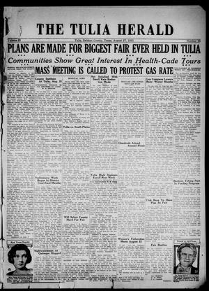 The Tulia Herald (Tulia, Tex), Vol. 22, No. 35, Ed. 1, Thursday, August 27, 1931