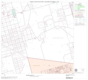 Primary view of object titled '2000 Census County Subdivison Block Map: Goldsmith-Penwell CCD, Texas, Block 5'.