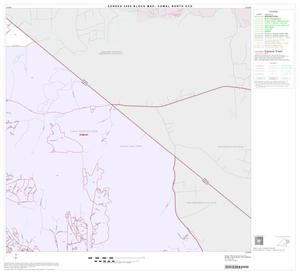 Primary view of object titled '2000 Census County Subdivison Block Map: Comal North CCD, Texas, Block 6'.