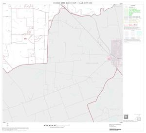 Primary view of object titled '2000 Census County Subdivison Block Map: Falls City CCD, Texas, Block 4'.