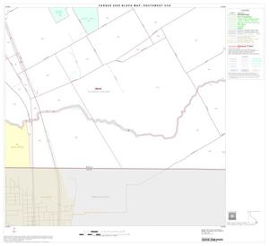 Primary view of object titled '2000 Census County Subdivison Block Map: Southwest CCD, Texas, Block 56'.