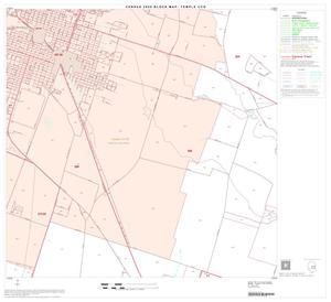 Primary view of object titled '2000 Census County Subdivison Block Map: Temple CCD, Texas, Block 11'.