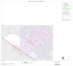 Primary view of object titled '2000 Census County Subdivison Block Map: Bowie CCD, Texas, Inset A01'.