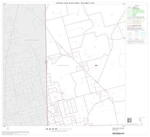 Primary view of object titled '2000 Census County Subdivison Block Map: McCamey CCD, Texas, Block 3'.