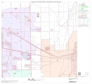 Primary view of object titled '2000 Census County Subdivison Block Map: Southeast Hidalgo CCD, Texas, Block 8'.