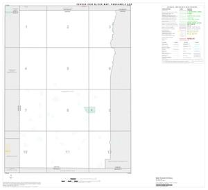 Primary view of object titled '2000 Census County Subdivison Block Map: Panhandle CCD, Texas, Index'.