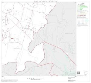Primary view of object titled '2000 Census County Subdivison Block Map: Bastrop CCD, Texas, Block 8'.
