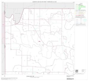 Primary view of object titled '2000 Census County Subdivison Block Map: Newcastle CCD, Texas, Block 1'.
