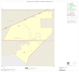 Primary view of object titled '2000 Census County Subdivison Block Map: Fulshear-Simonton CCD, Texas, Inset A01'.