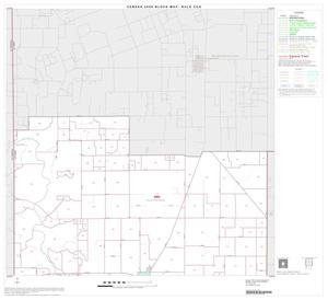 Primary view of object titled '2000 Census County Subdivison Block Map: Rule CCD, Texas, Block 1'.