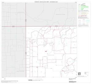 Primary view of object titled '2000 Census County Subdivison Block Map: Dickens CCD, Texas, Block 1'.
