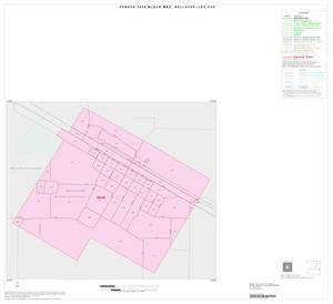 Primary view of object titled '2000 Census County Subdivison Block Map: Bellevue-Joy CCD, Texas, Inset A01'.