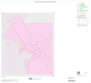 Primary view of object titled '2000 Census County Subdivison Block Map: Wells CCD, Texas, Inset A01'.