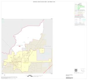 Primary view of object titled '2000 Census County Subdivison Block Map: Quitman CCD, Texas, Inset A01'.