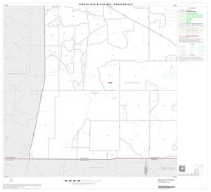 Primary view of object titled '2000 Census County Subdivison Block Map: Woodson CCD, Texas, Block 3'.