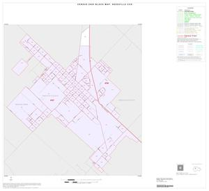 Primary view of object titled '2000 Census County Subdivison Block Map: Needville CCD, Texas, Inset A01'.