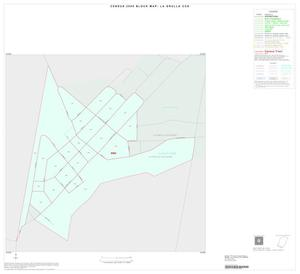 Primary view of object titled '2000 Census County Subdivison Block Map: La Grulla CCD, Texas, Inset B01'.