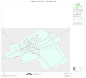 Primary view of object titled '2000 Census County Subdivison Block Map: Gause-Milano CCD, Texas, Inset B01'.
