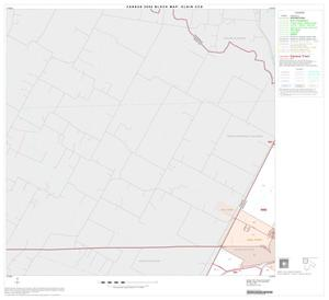Primary view of object titled '2000 Census County Subdivison Block Map: Elgin CCD, Texas, Block 1'.