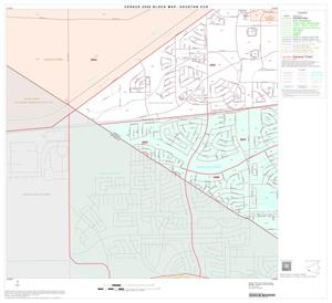 Primary view of object titled '2000 Census County Subdivison Block Map: Houston CCD, Texas, Block 88'.