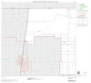 Primary view of object titled '2000 Census County Subdivison Block Map: San Perlita CCD, Texas, Block 1'.