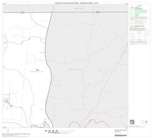 Primary view of object titled '2000 Census County Subdivison Block Map: Marion West CCD, Texas, Block 4'.