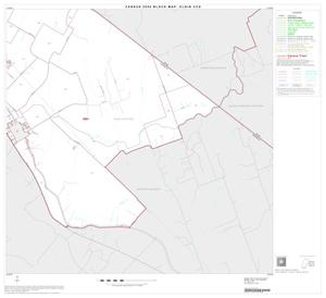 Primary view of object titled '2000 Census County Subdivison Block Map: Elgin CCD, Texas, Block 6'.