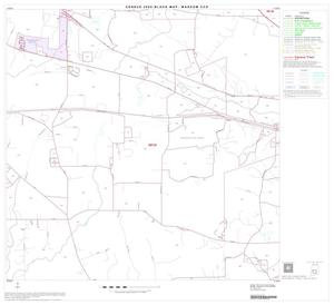 Primary view of object titled '2000 Census County Subdivison Block Map: Waskom CCD, Texas, Block 8'.