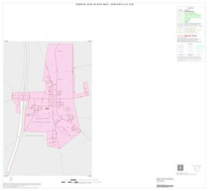 Primary view of object titled '2000 Census County Subdivison Block Map: Centerville CCD, Texas, Inset A01'.