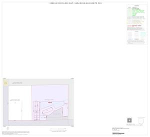 Primary view of object titled '2000 Census County Subdivison Block Map: Harlingen-San Benito CCD, Texas, Inset F01'.