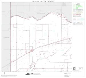 Primary view of object titled '2000 Census County Subdivison Block Map: Canyon CCD, Texas, Block 1'.