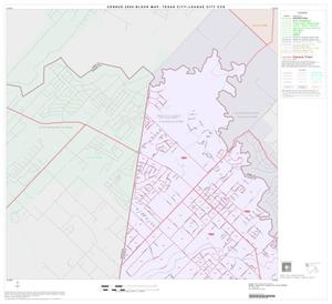 Primary view of object titled '2000 Census County Subdivison Block Map: Texas City-League City CCD, Texas, Block 1'.