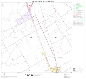 Primary view of object titled '2000 Census County Subdivison Block Map: Hillsboro CCD, Texas, Block 9'.