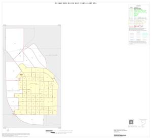 Primary view of object titled '2000 Census County Subdivison Block Map: Pampa East CCD, Texas, Inset A01'.