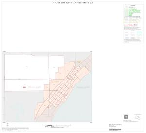 Primary view of object titled '2000 Census County Subdivison Block Map: Woodsboro CCD, Texas, Inset B01'.